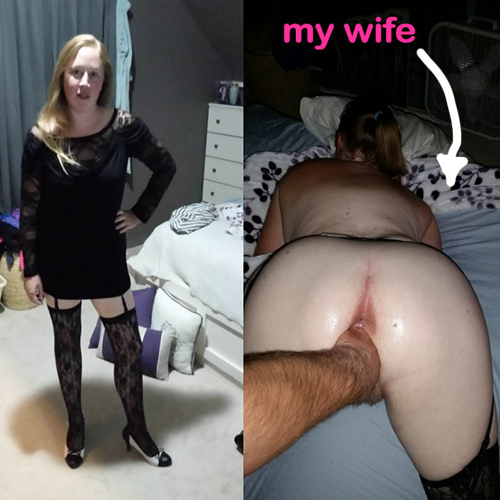 Exposing my naked wife video new porn